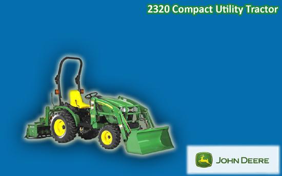 John Deere 2320 Compact Utility Tractor