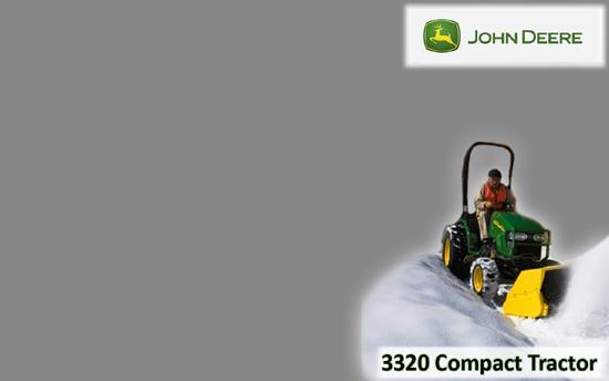 John Deere 3320 Compact Tractor