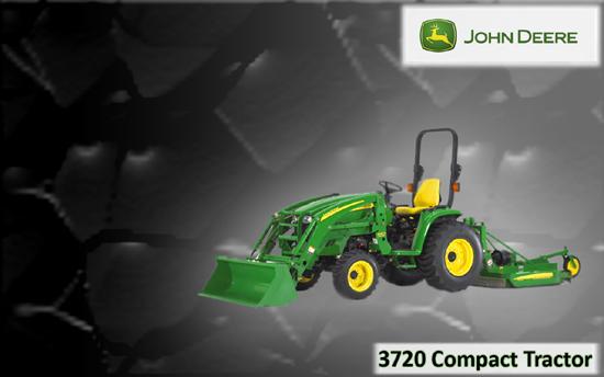 John Deere 3720 Compact Tractor