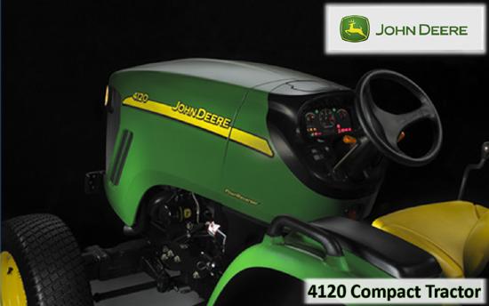 John Deere 4120 Compact Tractor