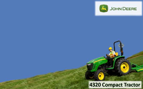 John Deere 4320 Compact Tractor
