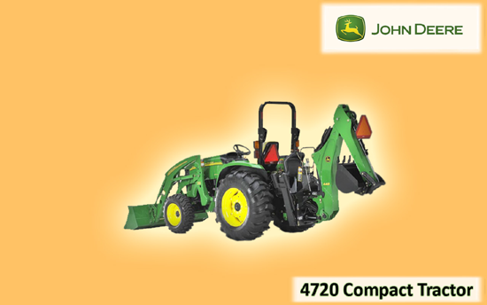 John Deere 4720 Compact Tractor