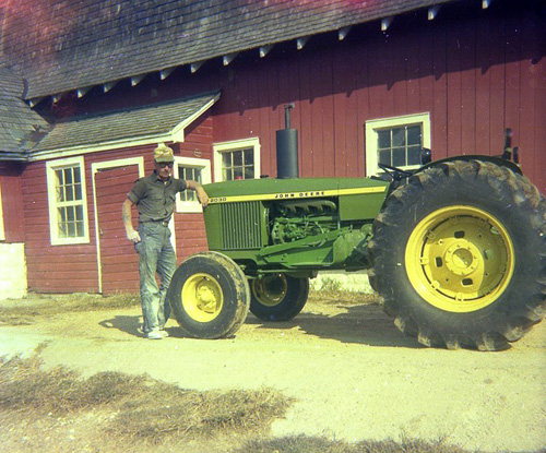 John Larson & John Deere Tractors