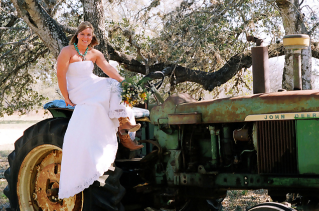 John Deere Gator >> John Deere Weddings