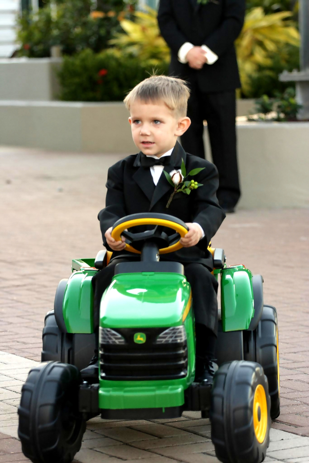 John Deere Gators >> John Deere Weddings