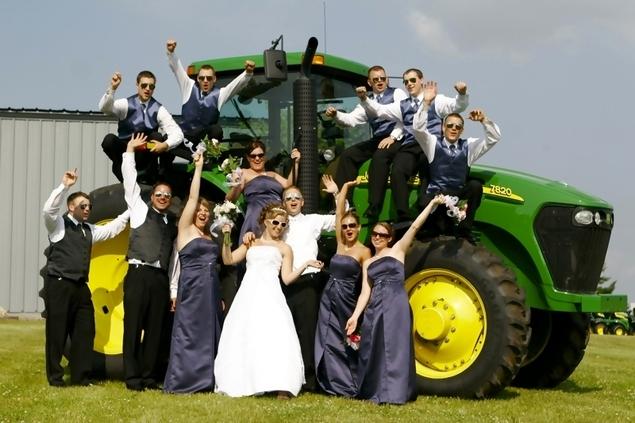 John Deere Gators >> John Deere Weddings