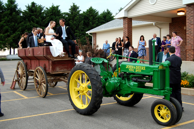 John Deer Wedding