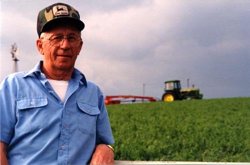 John Larson and John Deere Tractors