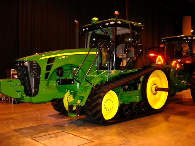 John Deere 8345 RT Track Tractor