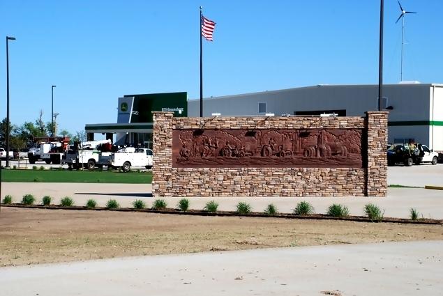 John Deere Greensburg Kansas Green Rebuild