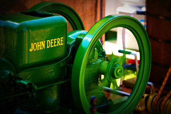 John Deere Ice Cream Maker