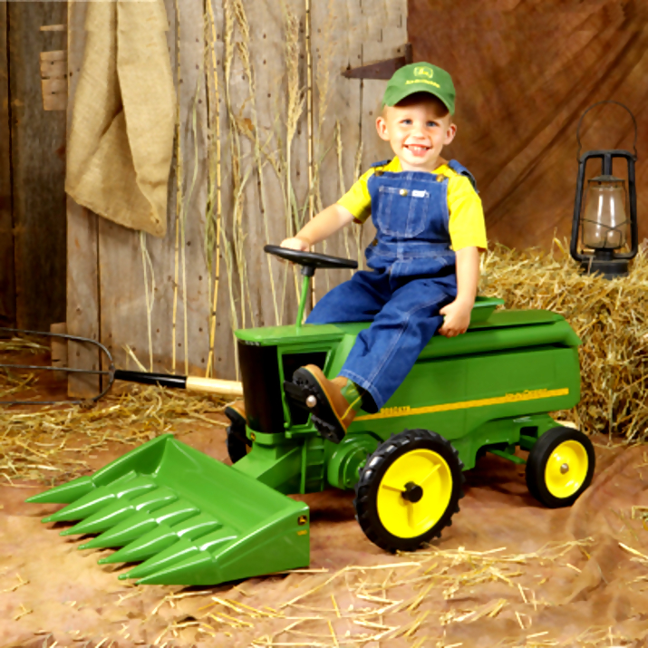 john deere kid24 John Deere Tractors and the Children Who Love Them (25 pics)