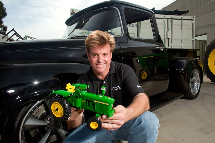 Chip Foose and John Deere Tractor