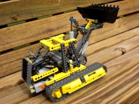 John Deere Lego Bulldozer