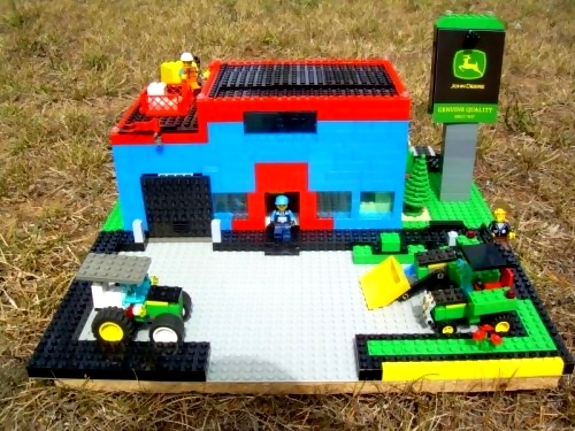 John Deere Lego Dealership