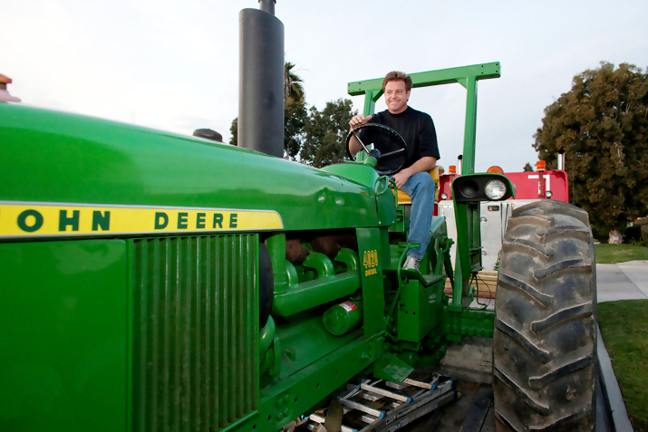 John Deere  and Chip Foose