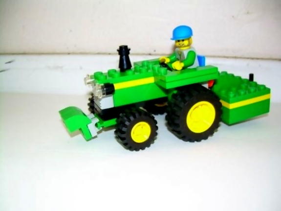 John Deere Lego Tractors And Combines On Display