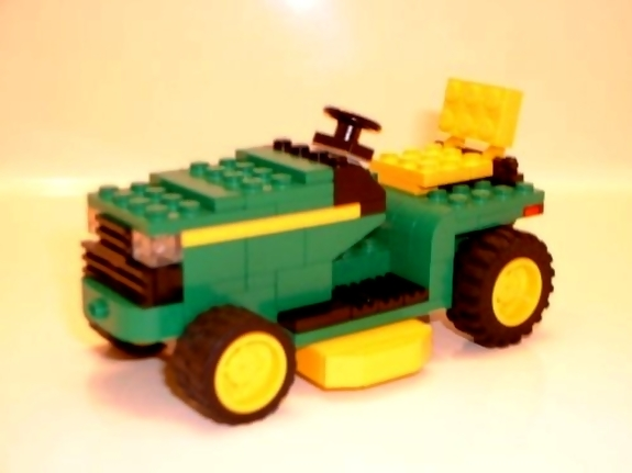 john deere lawnmower lego