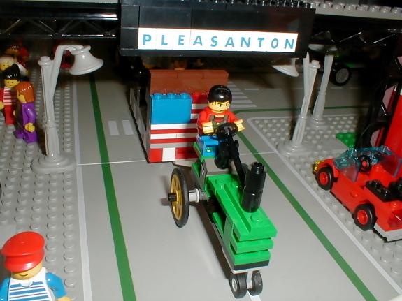 john deere lego tractor