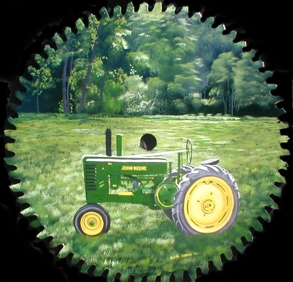 Girly John Deere Paintings : John deere art pictures that will blow you away