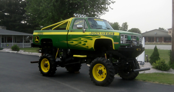 John Deere Trucks - monster truck