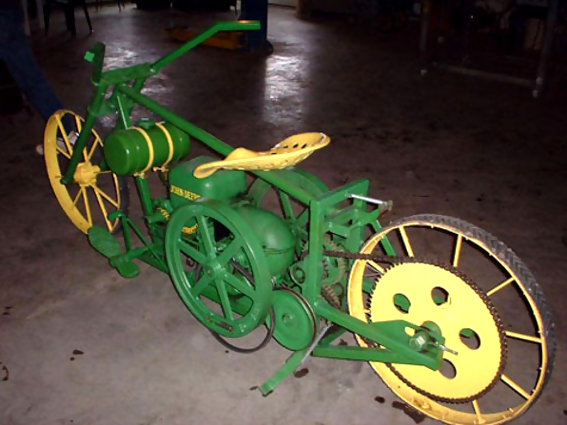 Nothing Pedals Like A Deere