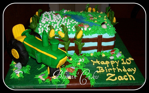 Happy Birthday John Deere Style