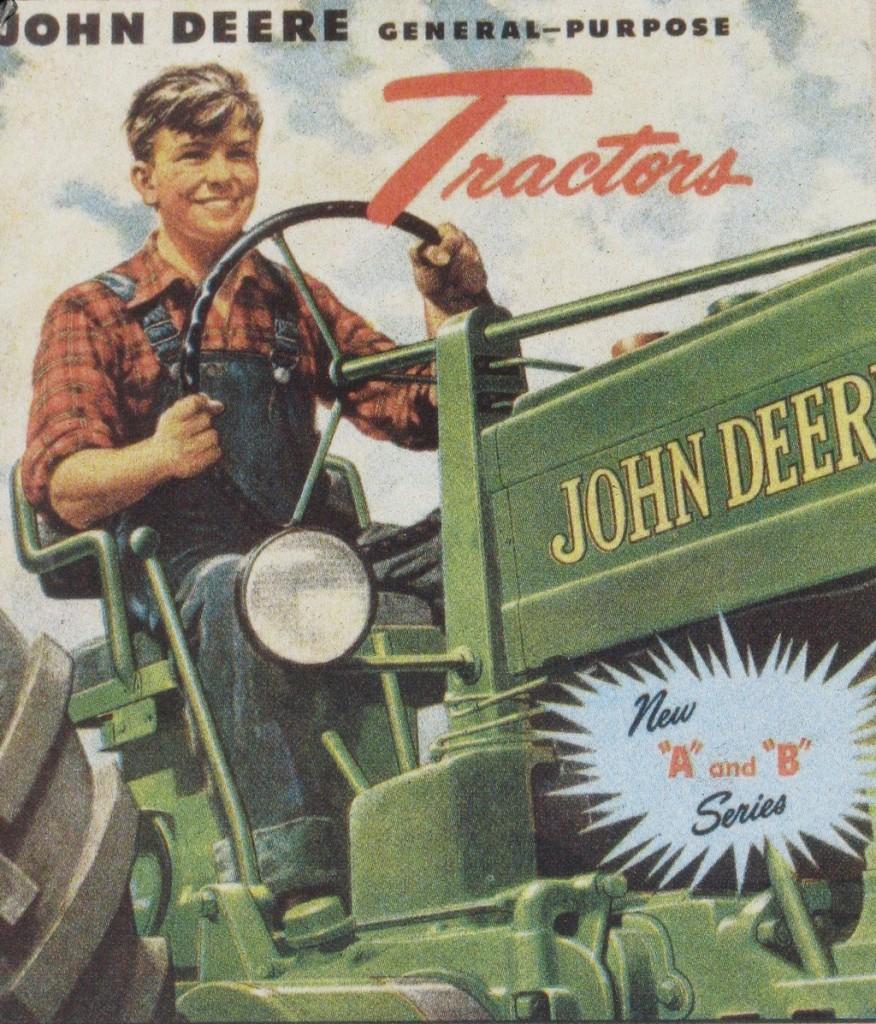 John Deere Tractor Ad : Vintage john deere posters and signs