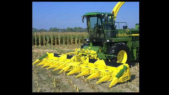 Collection Of John Deere Farm Equipment Screensaver