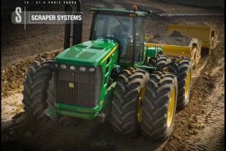 John Deere Scraper Tractor
