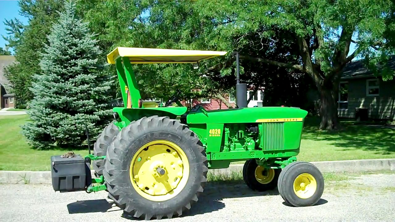 My Visit To The First Serial Numbered 1966 Jd 2510 Tractor