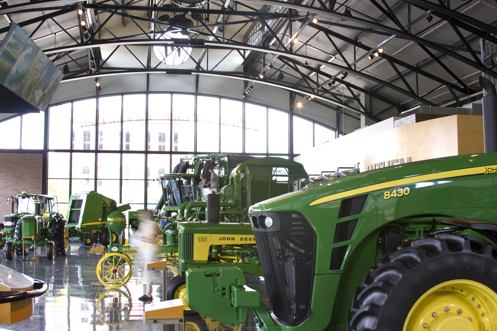 Take A Trip To The John Deere Pavilion
