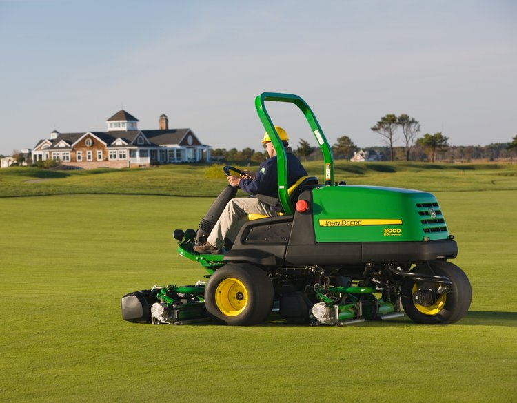 Beautiful Golf Courses Maintained By John Deere