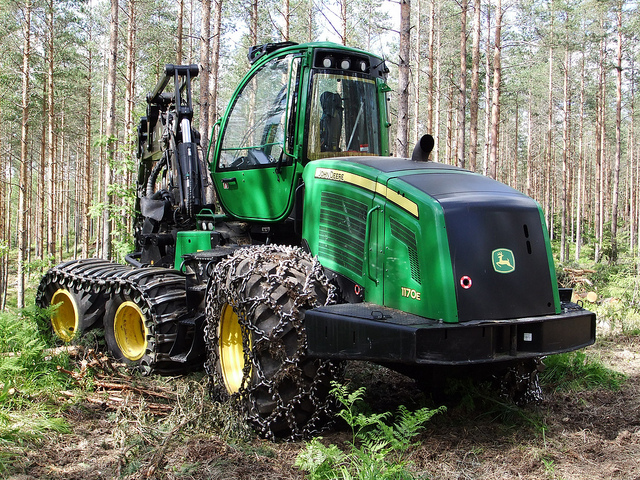 John Deere Monster Of The Forest