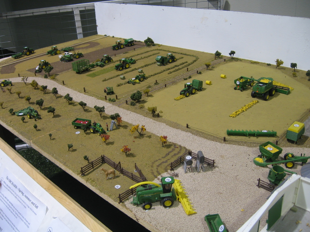 Zoomed Out John Deere Scale Models
