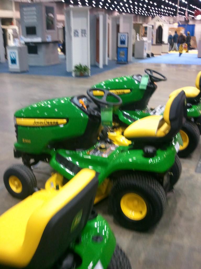 Deere mowers
