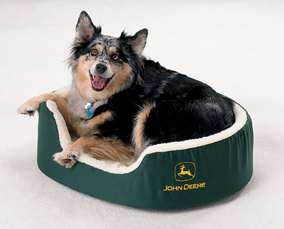 John Deere dog bed