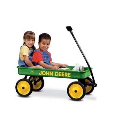 John Deere kids wagon