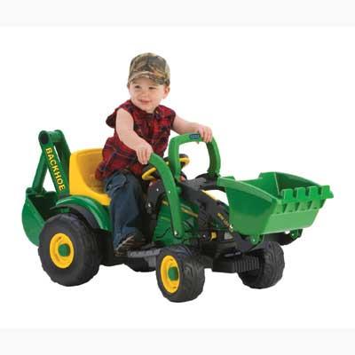 Kids John Deere tractor