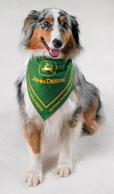 John Deere bandana for dogs