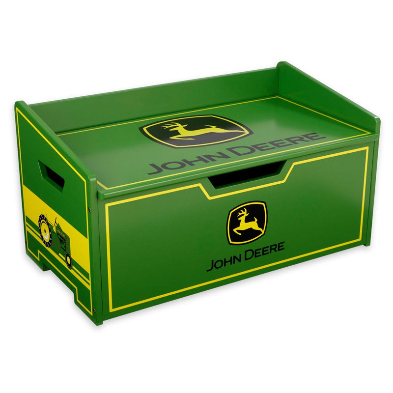 John Deere kids toy box