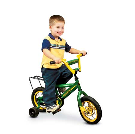 John Deere kids bicycle