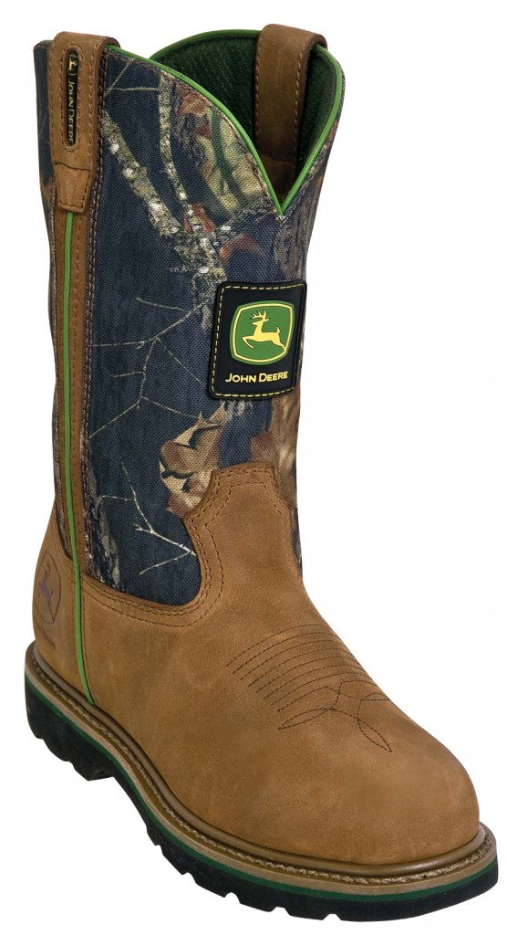 John Deere working boots