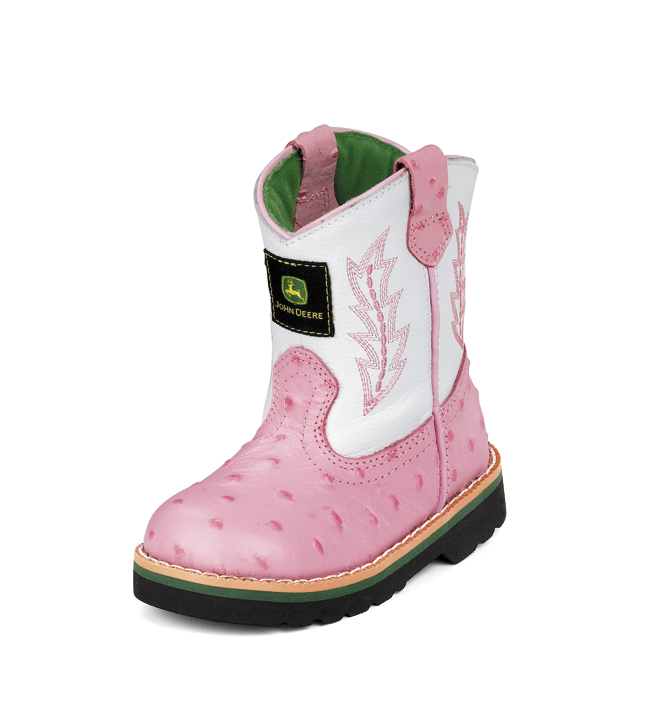 John Deere working boots for girls