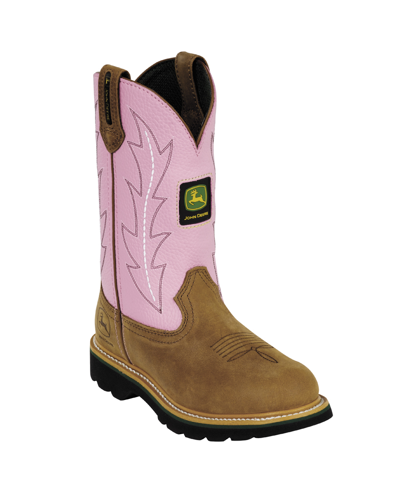 Cool John Deere stuff for girls.  Boots
