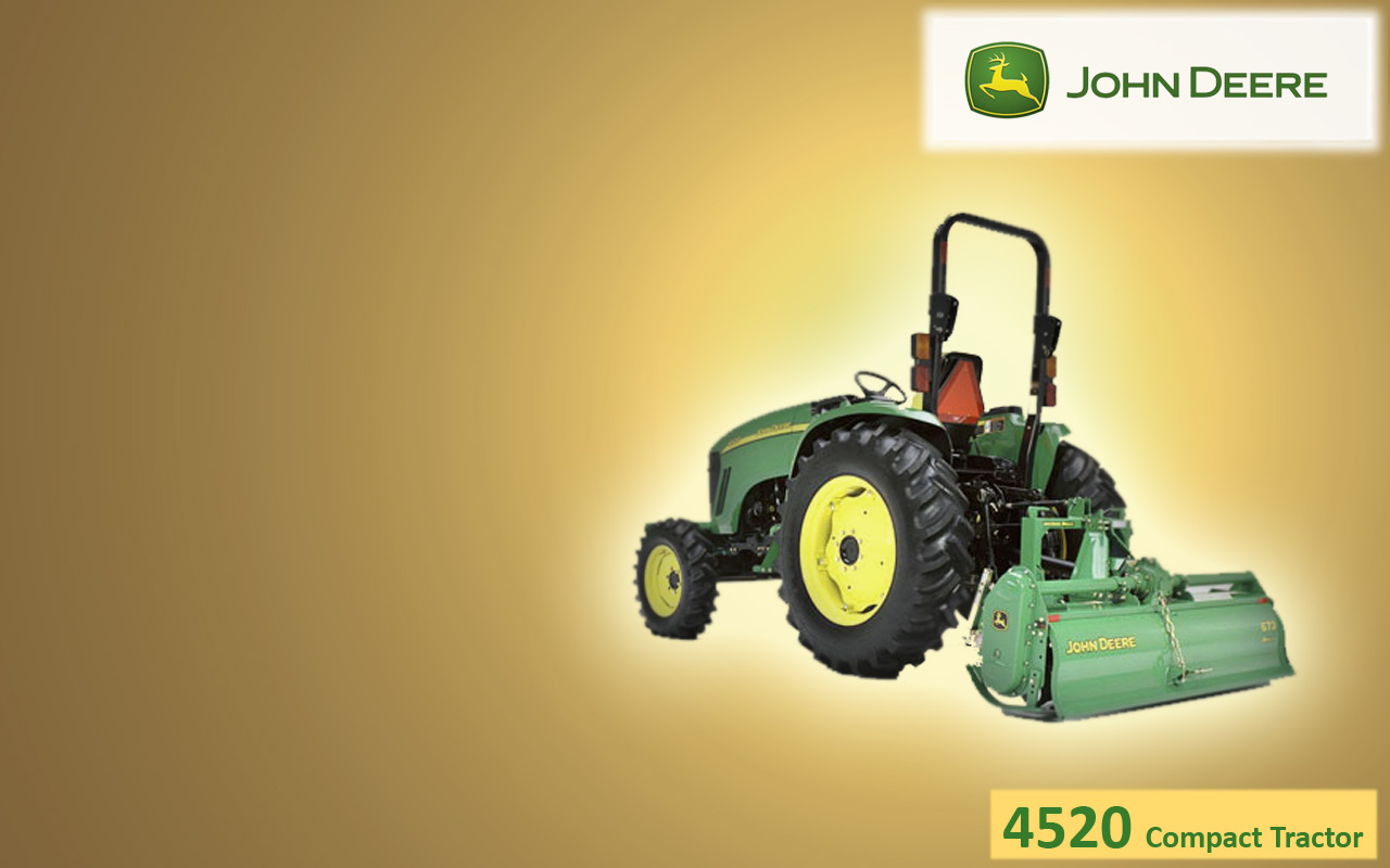 John Deere Gators >> John Deere 4520 Compact Tractor Wallpaper