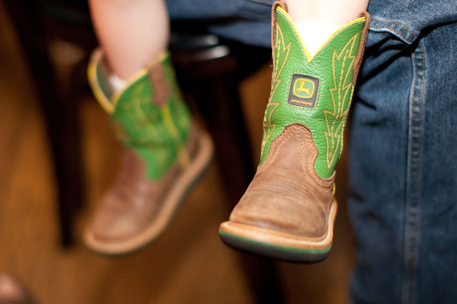 Cool John Deere stuff for babies -  Boots