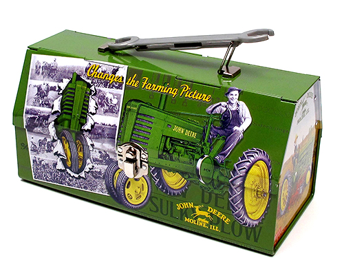 John Deere styled toolbox