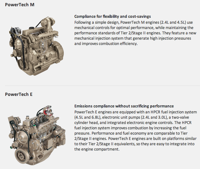 Powertech Engines from Deere & John Deere PowerTech PSX