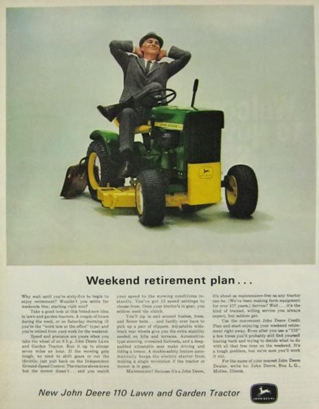 John Deere Advertisements